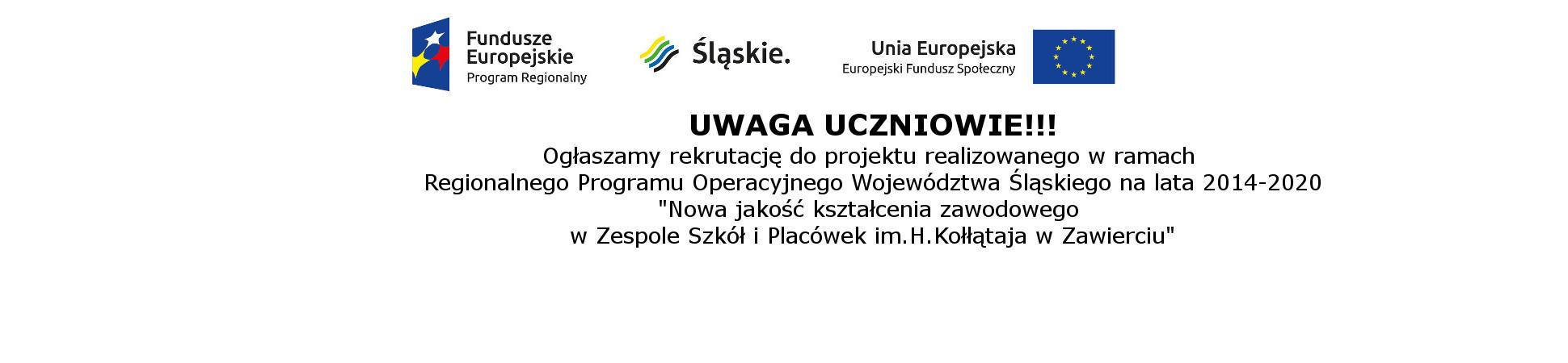 logo z unią i ogłoszeniem 2