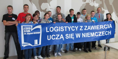 Młodzi logistycy uczą się w Niemczech