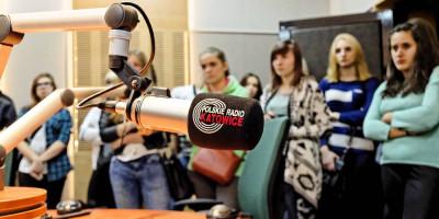 Polskie Radio Katowice gościło dziennikarzy z Kołłątaja