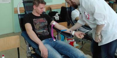 Akcja honorowej zbiórki krwi